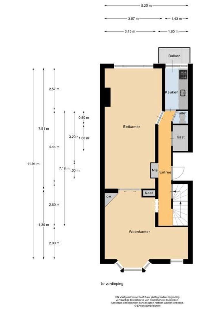 Kortekade 91 A01, Rotterdam plattegrond-24