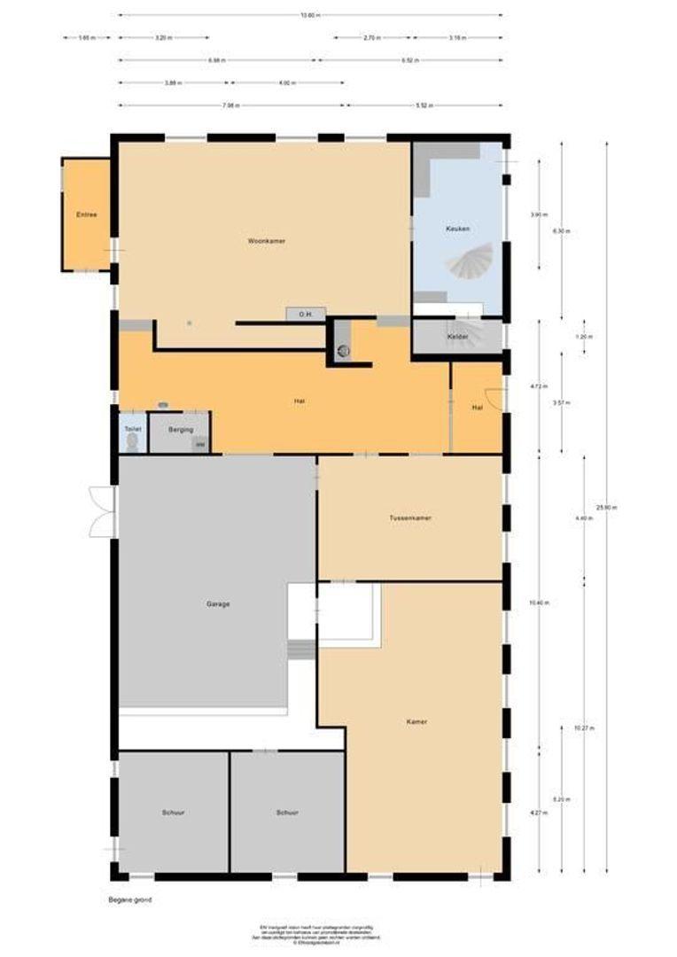 Abbekesdoel 80, Bleskensgraaf Ca plattegrond-59