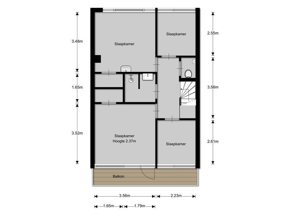 Gemeenlandslaan 37, Huizen plattegrond-19