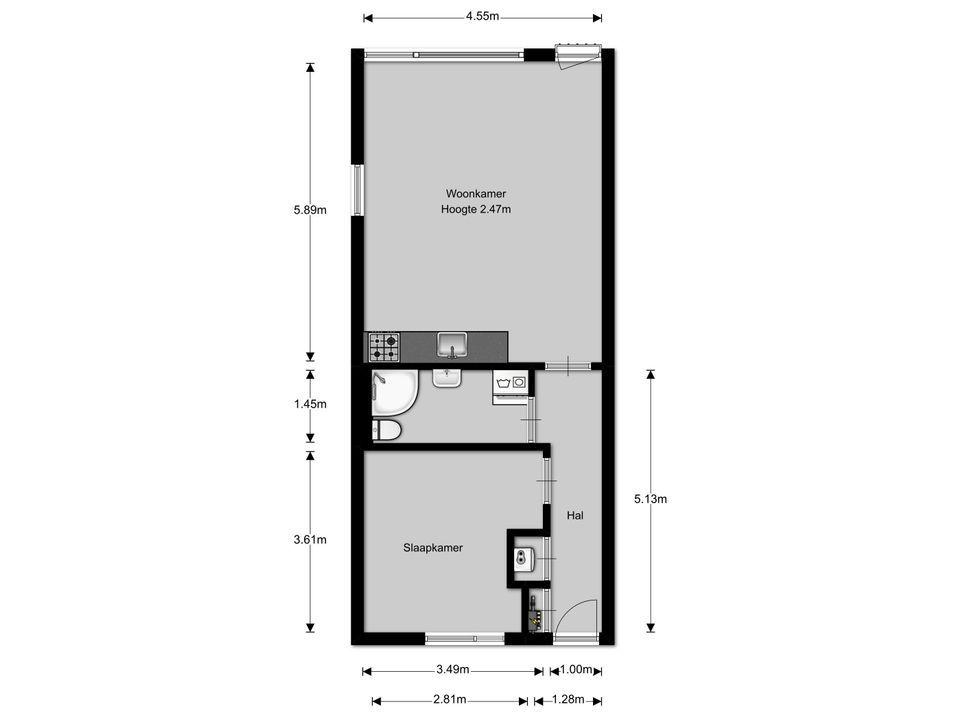 Minckelersstraat 78 8, Hilversum plattegrond-11