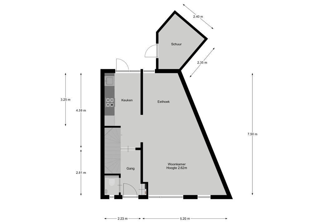 Broekbos 2, Kortenhoef plattegrond-21