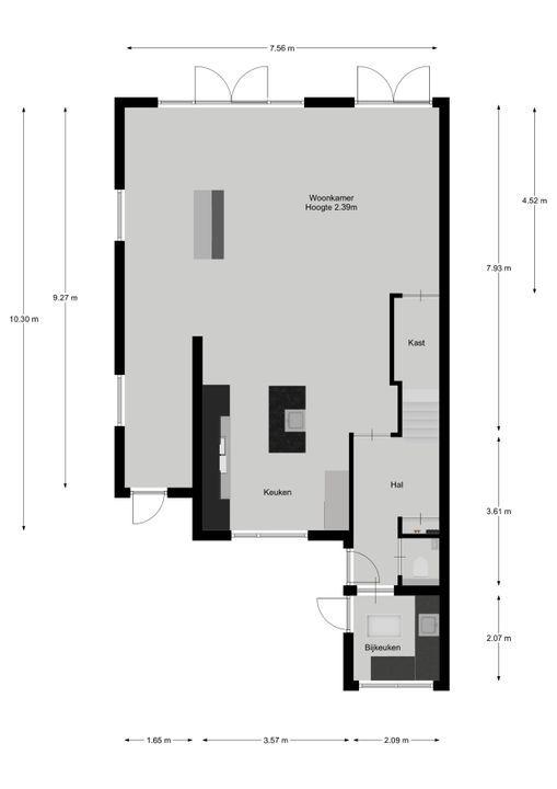 Lambertsveen 18, Eemnes plattegrond-34
