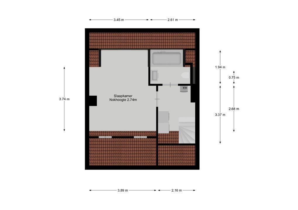 Jacob van Maerlantlaan 11, Hilversum plattegrond-23