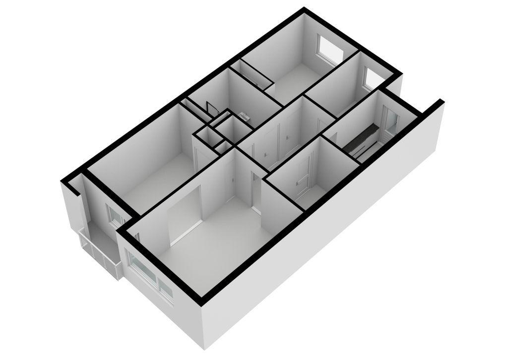 Beverlaan 34, Hilversum plattegrond-17