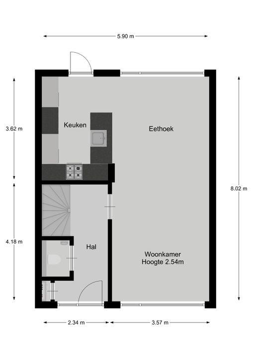 Raadhuislaan 55, Eemnes plattegrond-24
