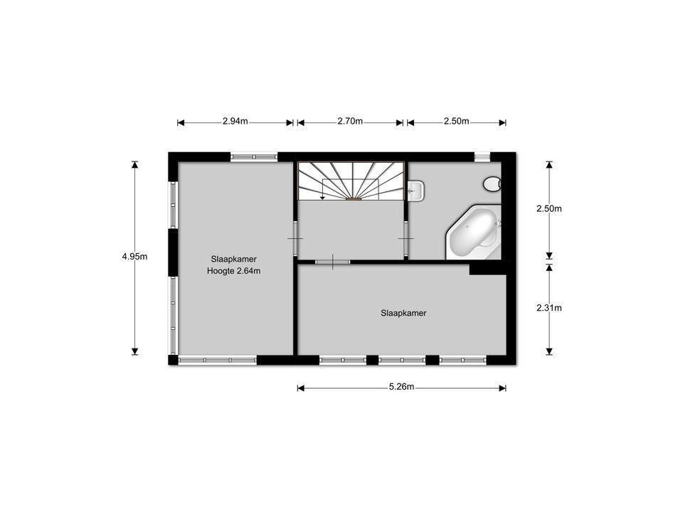 Cornelis van den Bergstraat 14, Bussum plattegrond-21