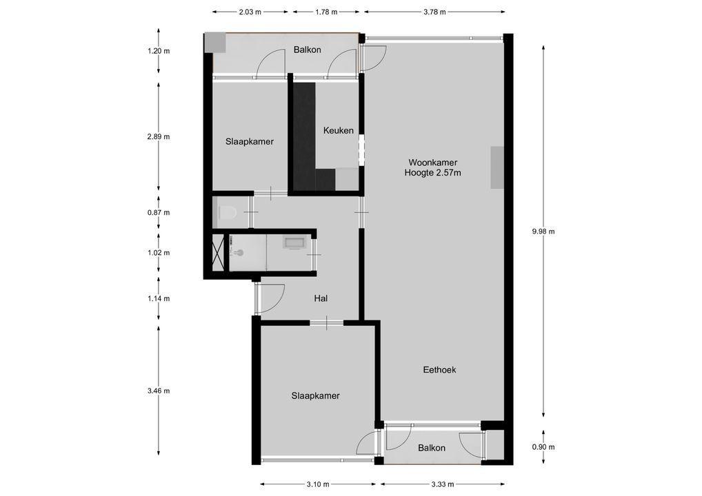 Zwaluwlaan 112, Bussum plattegrond-19