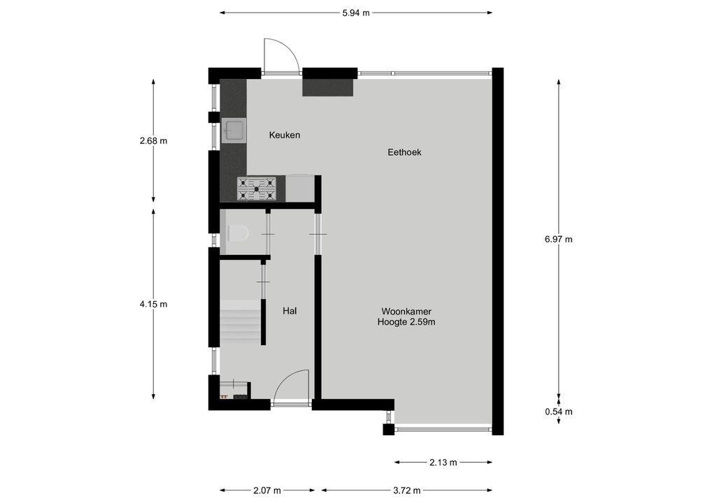 Van Linschotenstraat 31, Bussum plattegrond-22