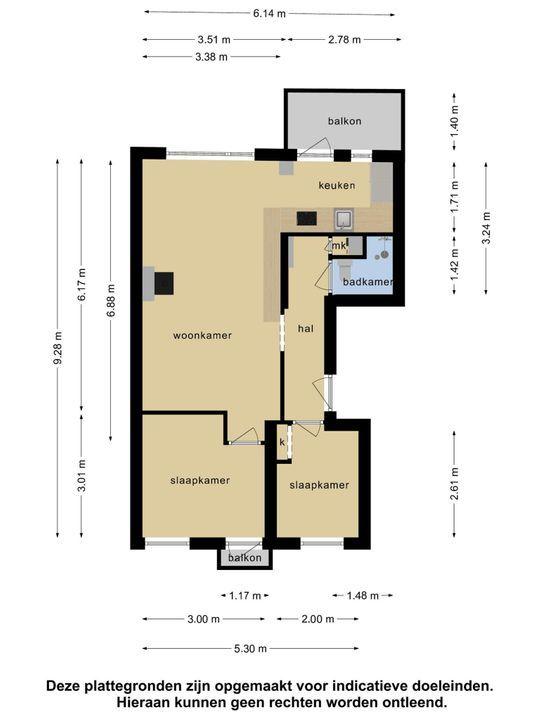 Bernardus Gewinstraat 30 A, Rotterdam plattegrond-27