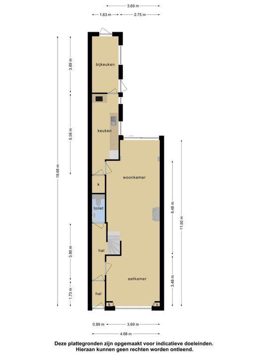 Emmastraat 26, Vlaardingen plattegrond-37