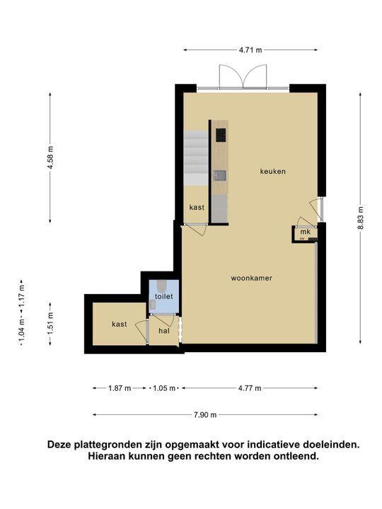 Molenstraat 8, Hardinxveld-Giessendam plattegrond-32