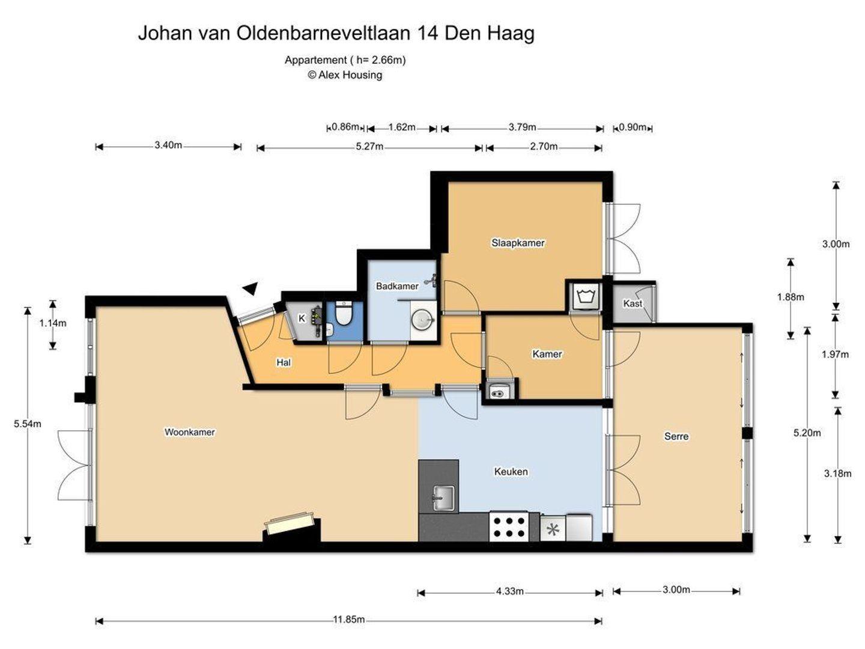 Johan van Oldenbarneveltlaan 14, Den Haag foto-31 blur