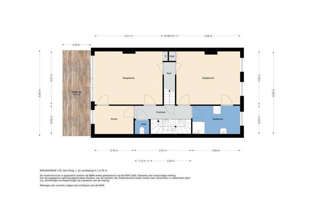 Riouwstraat 179, Den Haag plattegrond-43