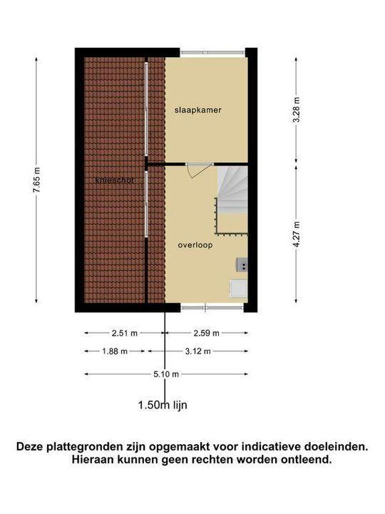 Parelmoervlinder 13, Meppel plattegrond-32