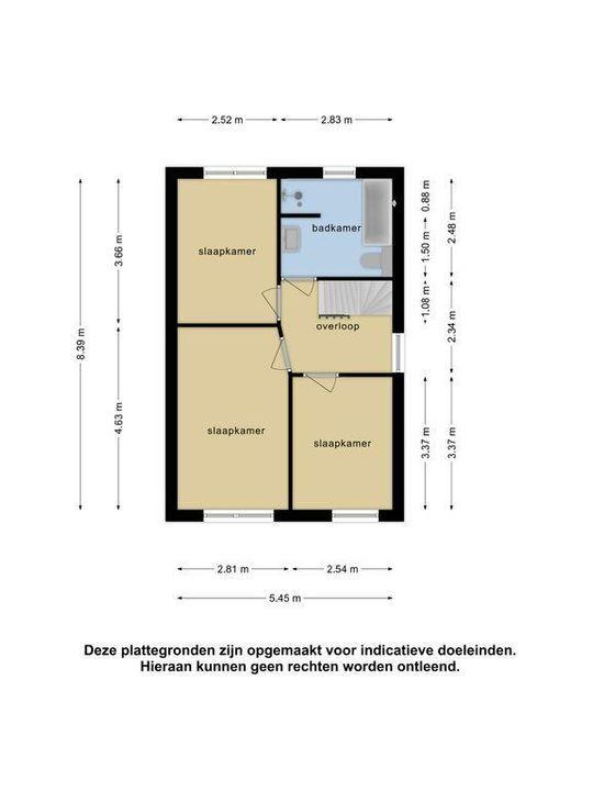 Keizersmantel 16, Meppel plattegrond-3