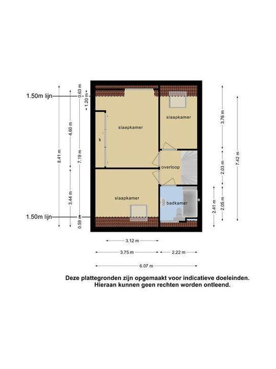 Ruskenstuk 33, Meppel plattegrond-26