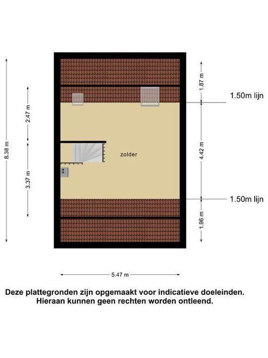 Keizersmantel 3, Meppel plattegrond-31