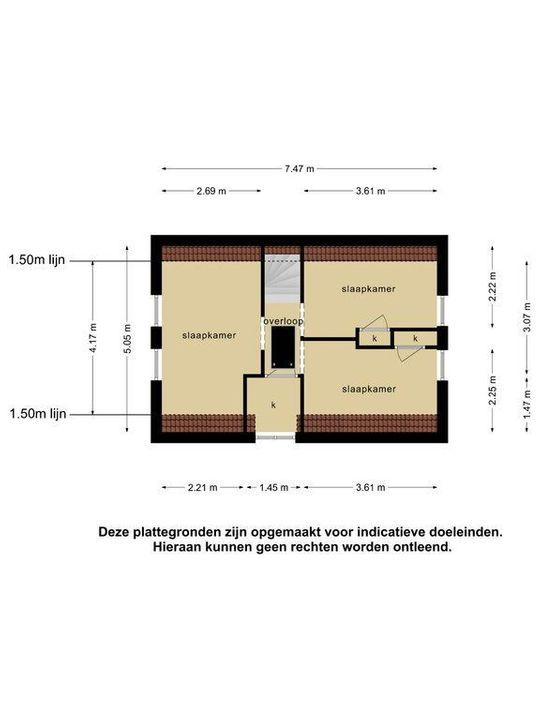 Burgemeester Bosmaweg 6, Ruinerwold plattegrond-30
