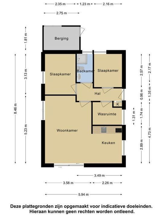 Oshaarseweg 24 145, Echten plattegrond-25
