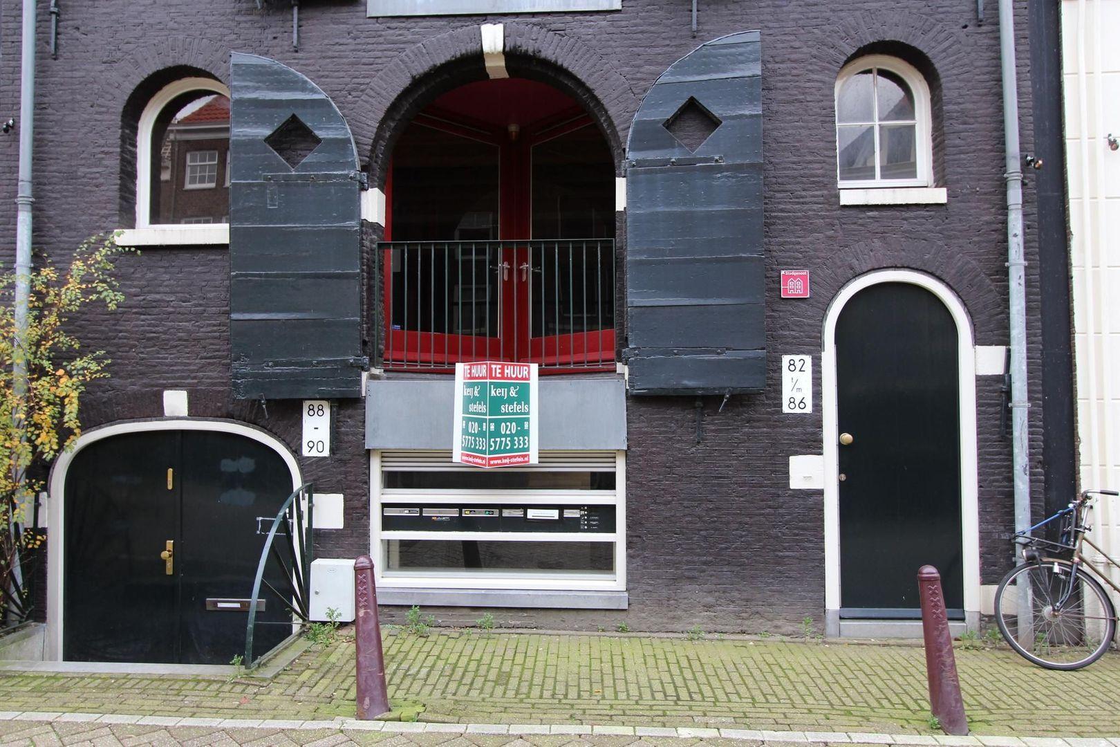 Recht Boomssloot 88 -90, Amsterdam foto-0 blur
