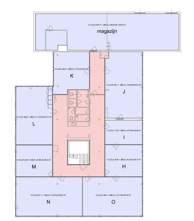 Volmerstraat 14 N, Diemen plattegrond-14