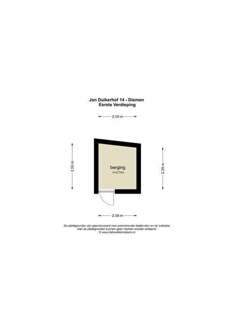 Jan Duikerhof 14, Diemen foto-21 blur