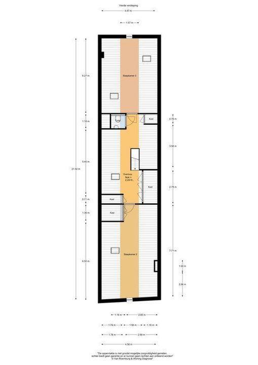 Herengracht 265 BV, Amsterdam plattegrond-31