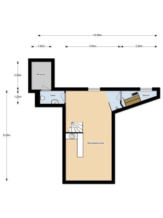 Dr. Kuyperlaan 29, Velsen-Zuid plattegrond-