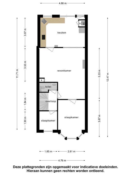 Tollensstraat 29 A, Schiedam plattegrond-21
