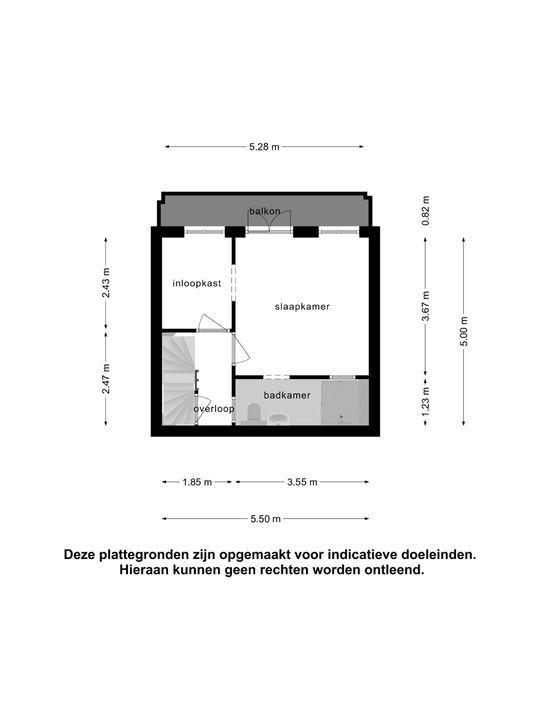 Julianalaan 84 C, Schiedam plattegrond-23