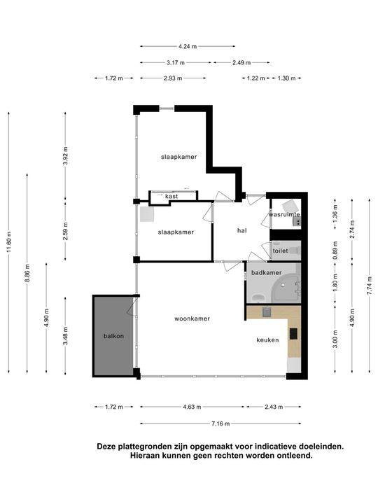 Spinhuispad 76, Schiedam plattegrond-34