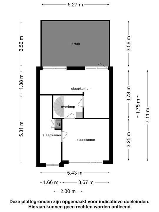 Zalmstraat 17, Schiedam plattegrond-26