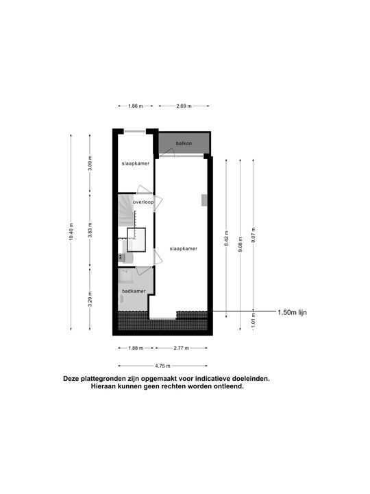 Galileistraat 74, Schiedam plattegrond-32