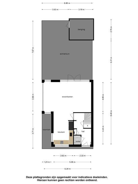 Ko Suurhofflaan 7, Schiedam plattegrond-28