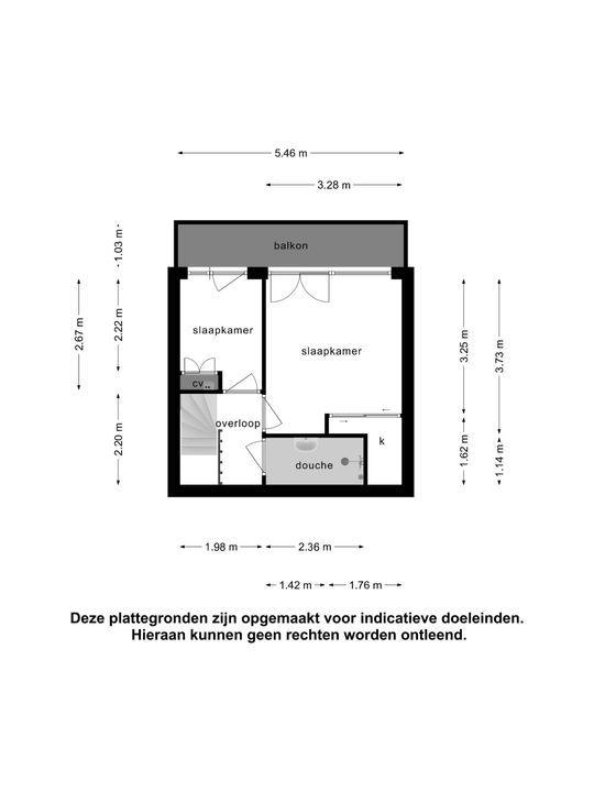 Marconistraat 103 a, Schiedam plattegrond-24