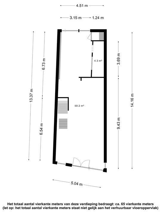 Lange Haven 122, Schiedam plattegrond-24