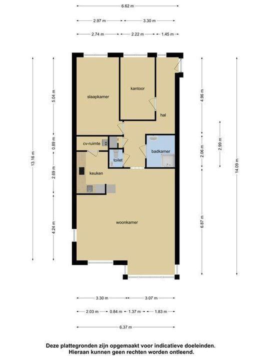 Naarderstraat 38 b, Hilversum plattegrond-25