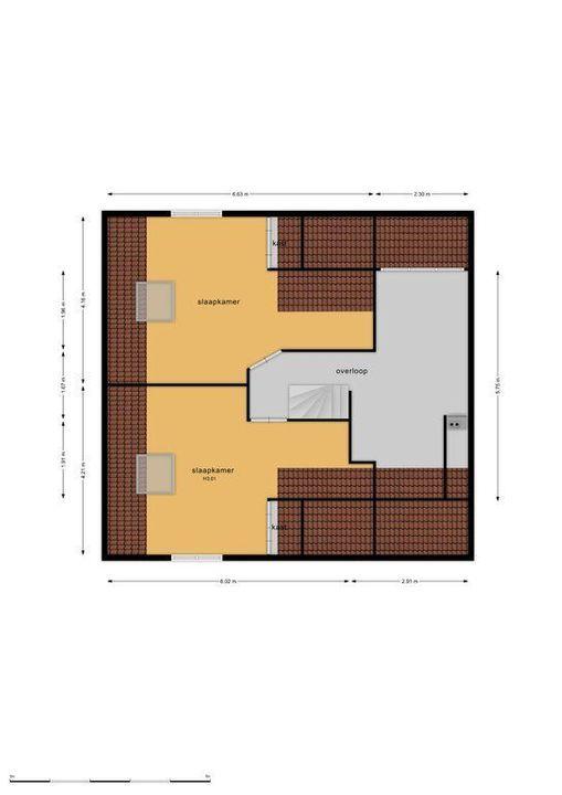 's-Gravesandelaan 6, Hilversum plattegrond-32