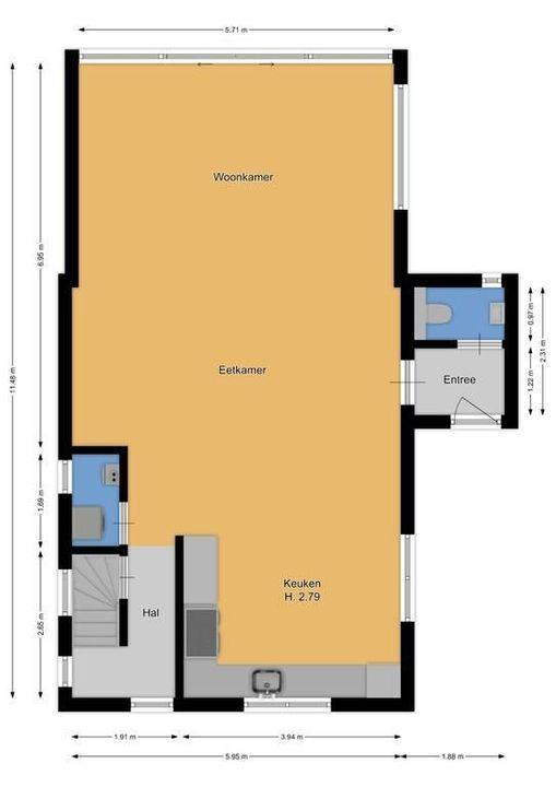 Nootweg 41, Loosdrecht plattegrond-31