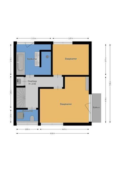 Vuntuslaan 97, Loosdrecht plattegrond-29