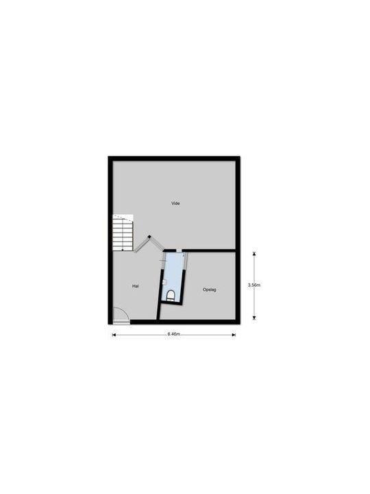 Albertus Perkstraat 85, Hilversum plattegrond-49