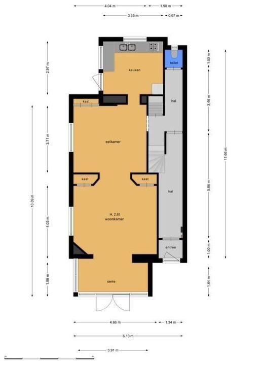 Gudelalaan 8, Bussum plattegrond-28