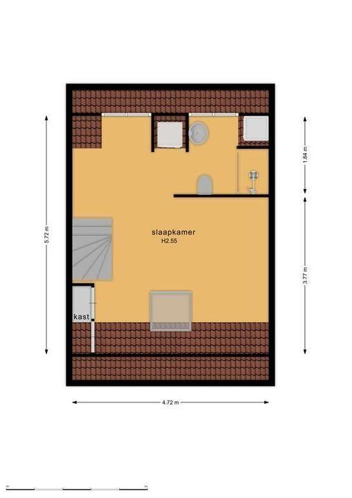 St. Annastraat 44, Naarden plattegrond-34