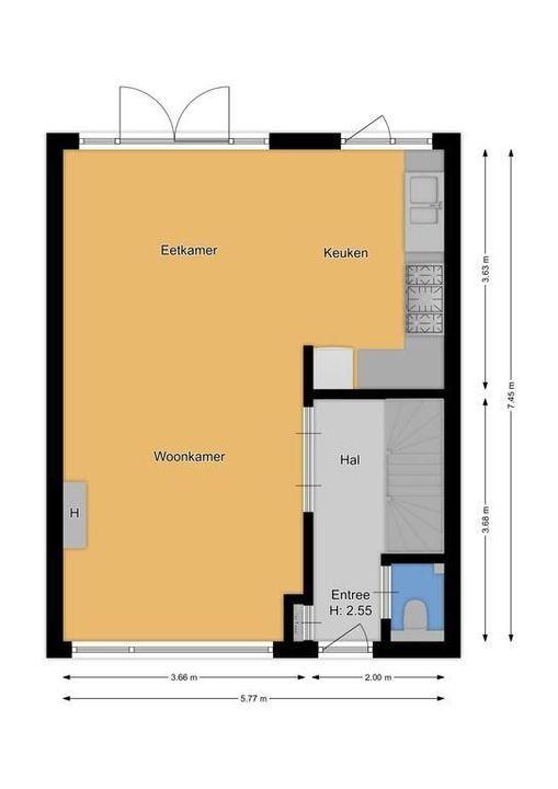 Piet Heinstraat 1, Hilversum plattegrond-26
