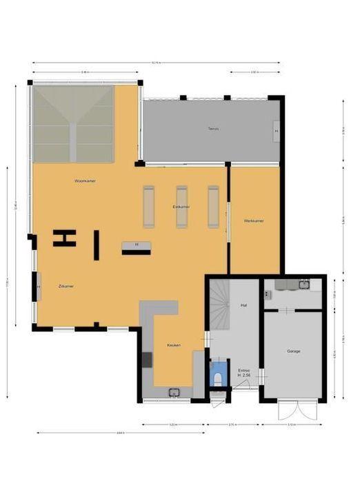 Hoofdgracht 31, Naarden plattegrond-49