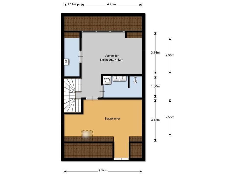 Minckelersstraat 416, Hilversum plattegrond-24