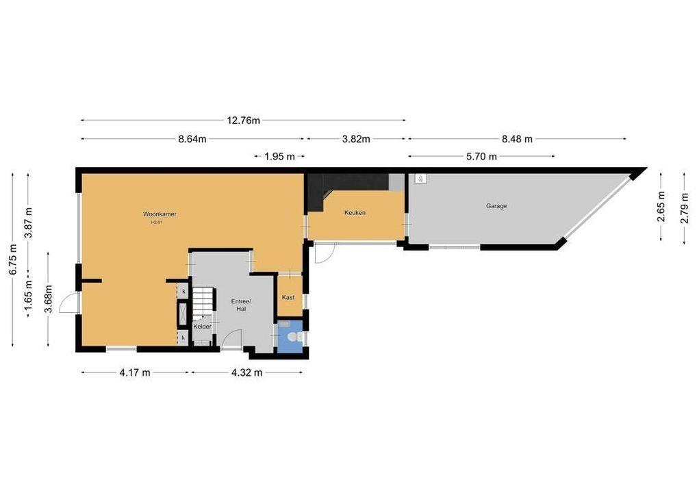 Emmastraat 25, Hilversum plattegrond-36