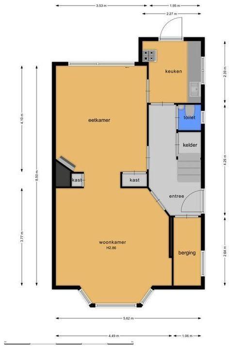 Hugo de Grootstraat 11, Hilversum plattegrond-39
