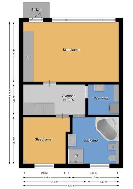 van der Helstpark 9, Muiderberg plattegrond-36