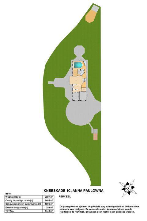 Kneeskade 1 C, Anna Paulowna plattegrond-24